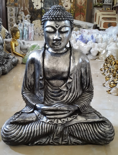 buddha resin sculpture